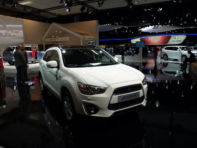 En direct du Mondial de l'auto - Mitsubishi ASX restylé : light