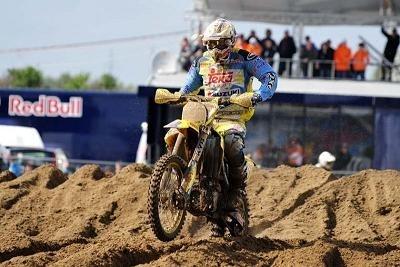 GP Lommel : Ken De Dycker offre la première victoire à Suzuki en MX 1 cette année