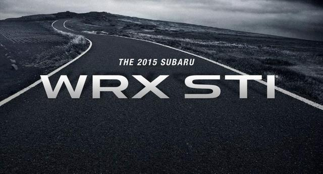 Subaru confirme la WRX STI pour le salon de Detroit