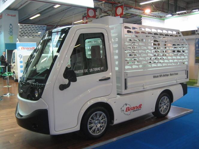 En direct du Mondial de Paris 2012 : Brandt Motors présente le Citélec