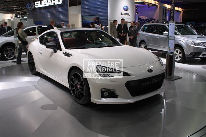 En direct du Mondial 2012 - Subaru BRZ XT Line Concept : vive le carbone