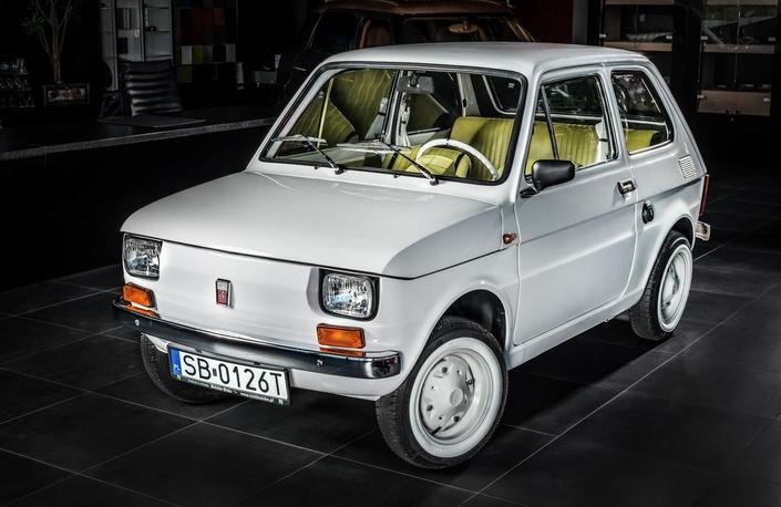 Une Fiat 126 unique pour Tom Hanks