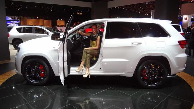 En direct du Mondial 2012 -  Jeep soigne ses séries limitées.