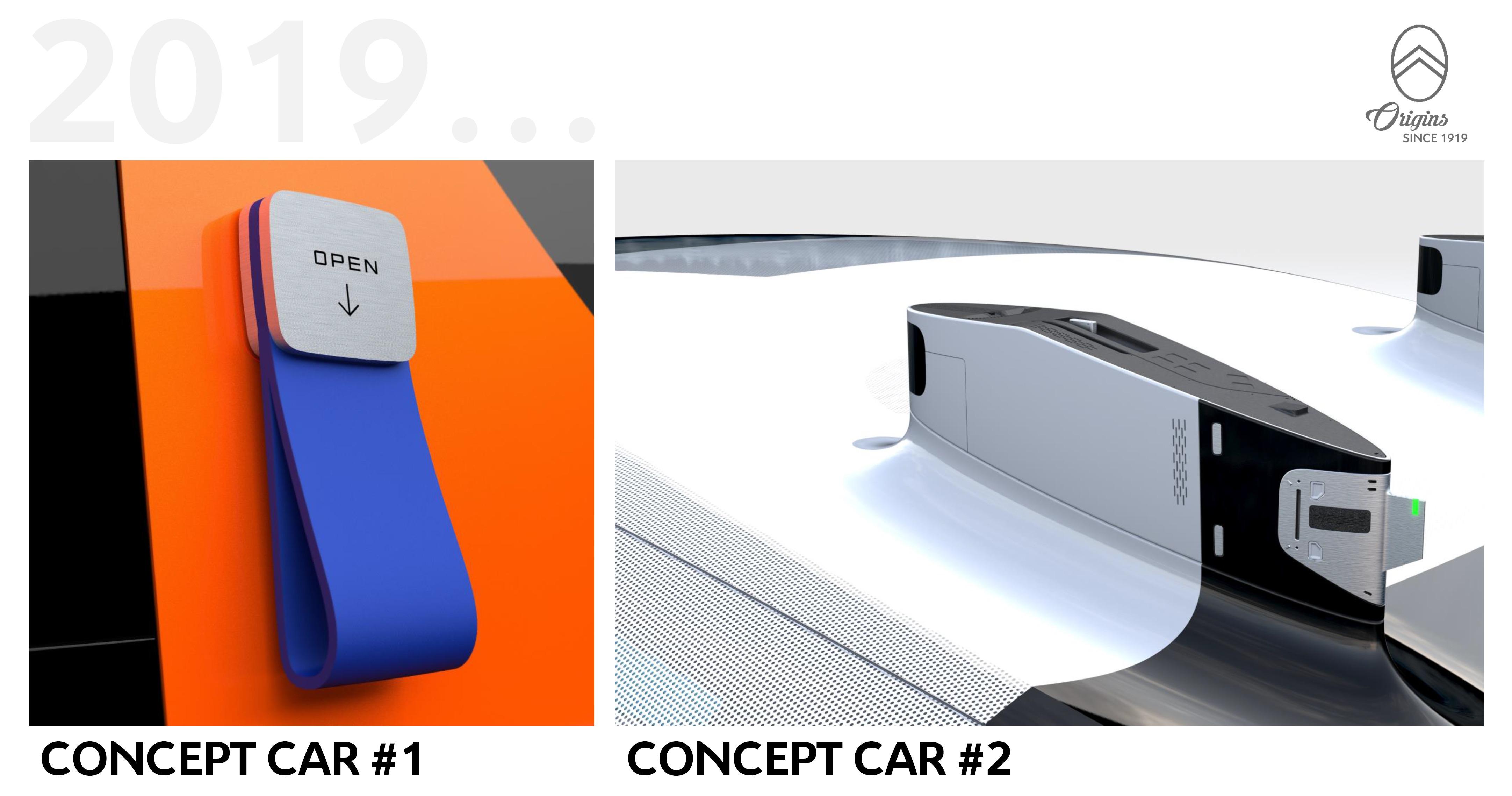 citro n annonce deux concepts pour ses 100 ans. Black Bedroom Furniture Sets. Home Design Ideas