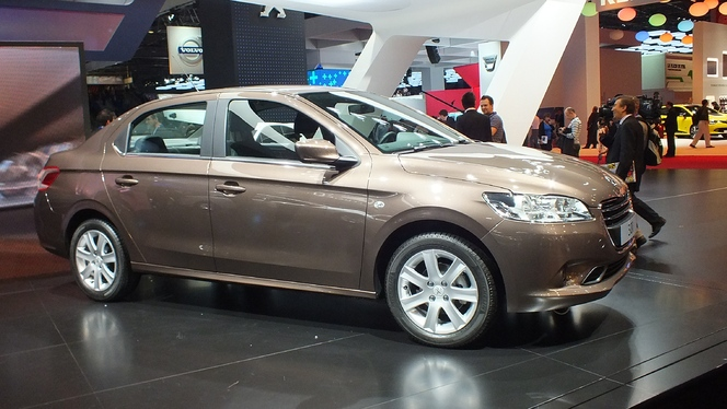 Vidéo en direct du Mondial de l'Automobile 2012 : Peugeot 301, l'internationale