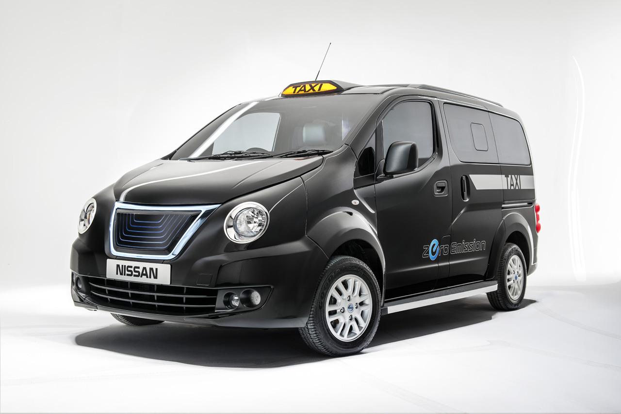 Exceptionnel face ratée du nouveau taxi londonien de Nissan CM35