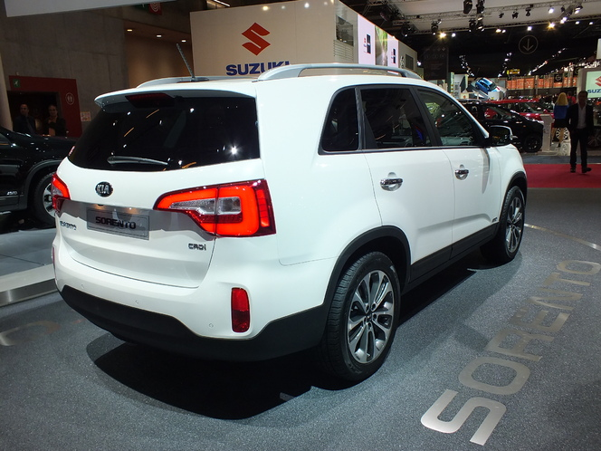 En direct du Salon de Paris 2012 : Kia Sorento restylé, un rafraîchissement light