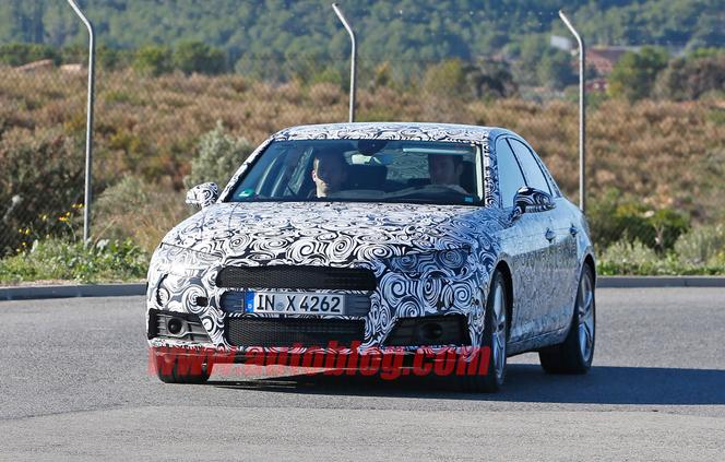 La nouvelle Audi A4 à Francfort, avant les Q1, Q5 et Q8