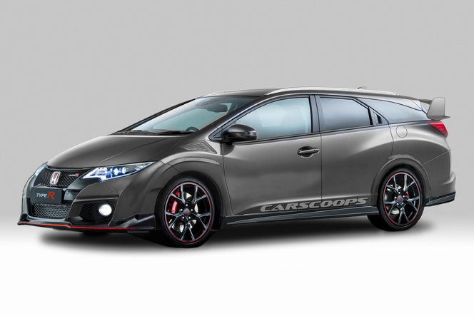 Design : Honda Civic Tourer Type R, vous aimez ?