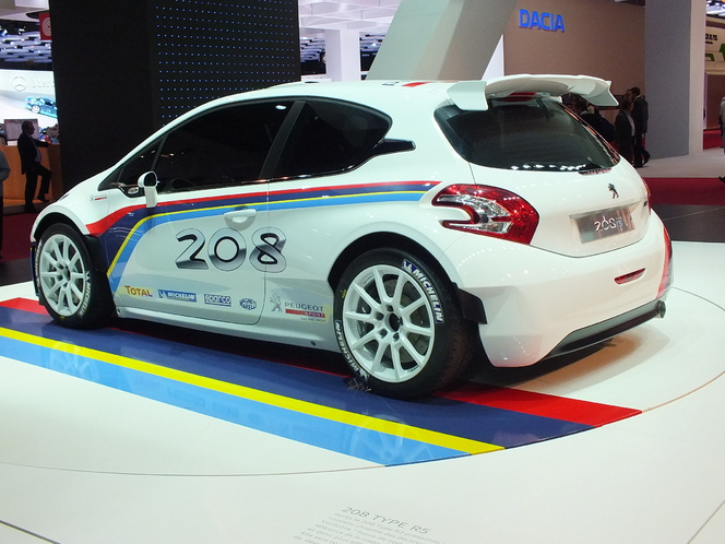 En direct du Mondial 2012 : Peugeot 208 Type R5, la vraie sportive