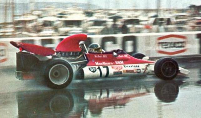 La BRM de Jean-Pierre Beltoise à Monaco en 1972