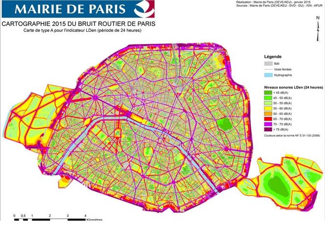 Plan anti-bruit de Paris : les automobilistes dans le viseur