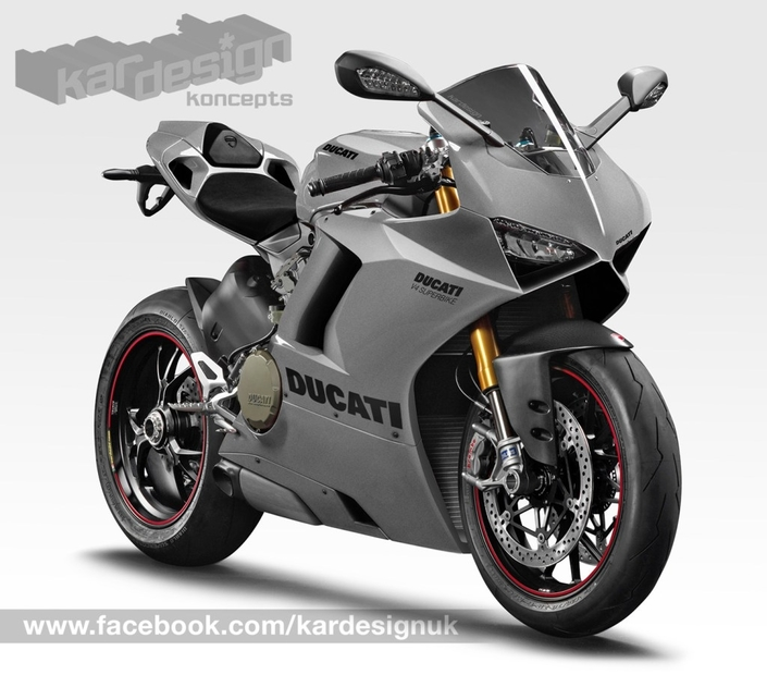 Nouveauté - Ducati: une idée de la V4
