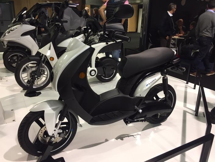 Peugeot Ludix électrique : energique - en direct du Mondial de la Moto