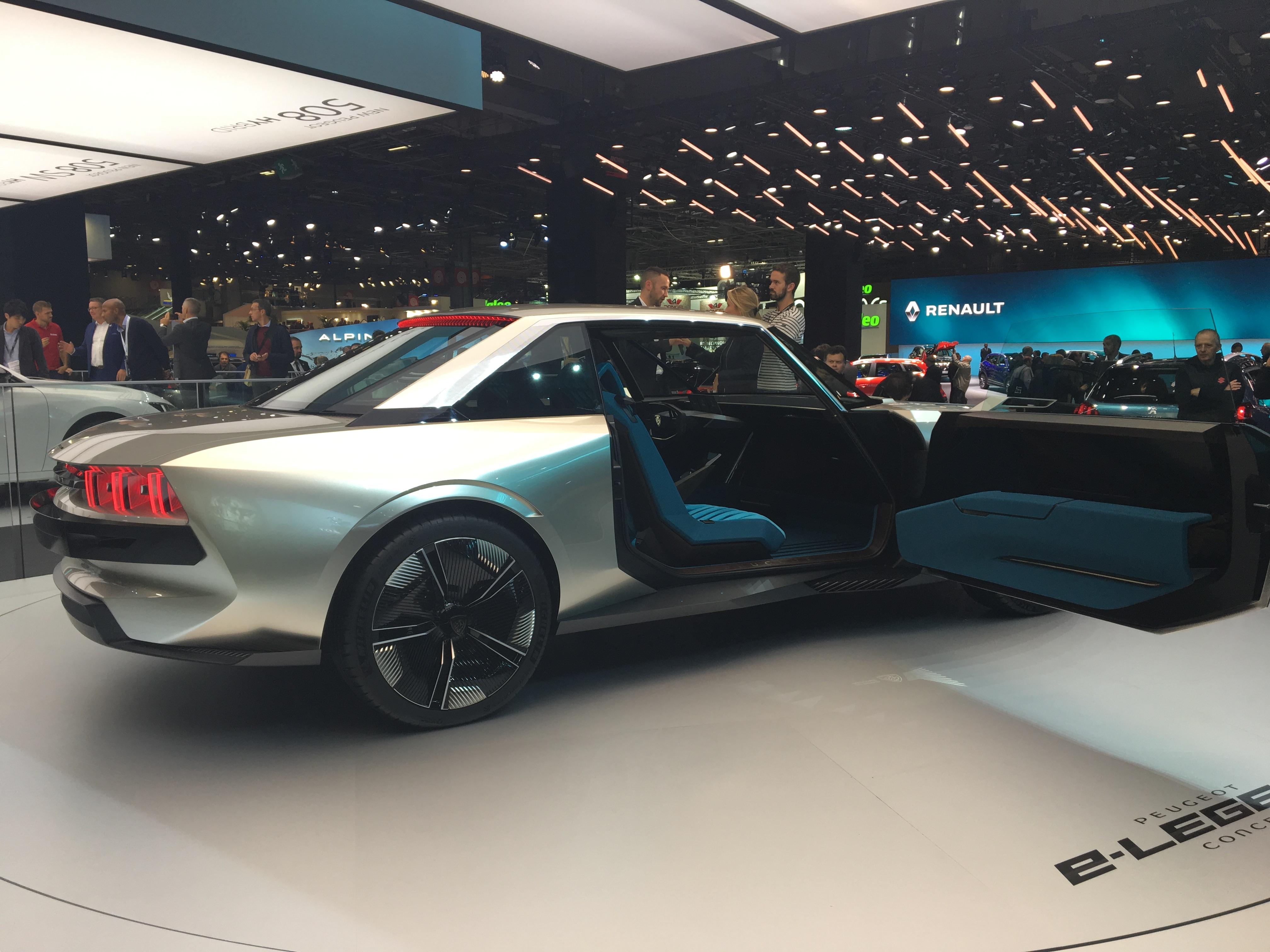Peugeot E Legend Concept La Star Du Salon Video En Direct Du