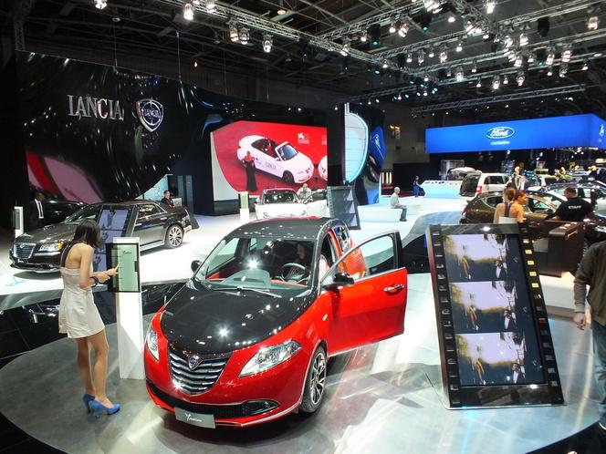 En direct du Salon de Paris 2012 : stand Lancia, sur notre faim