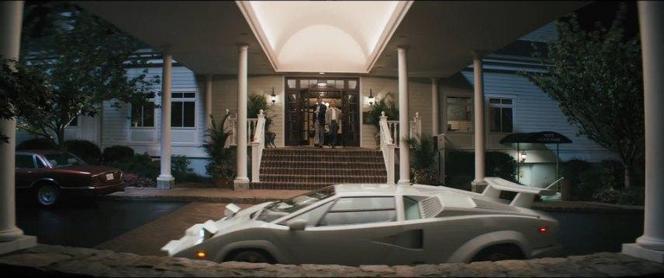 """Dans """"Le loup de Wall Street"""", c'est une vraie Lamborghini Countach qui est accidentée"""