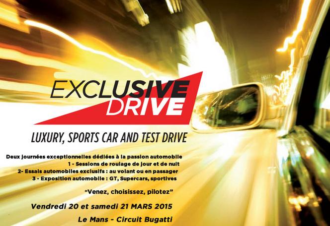 Agenda - 20 et 21 mars : Exclusive Drive, regardez, essayez, vibrez
