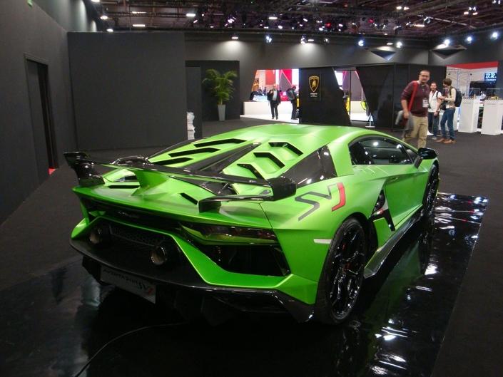 Lamborghini Aventador SVJ - En direct du Mondial de Paris 2018