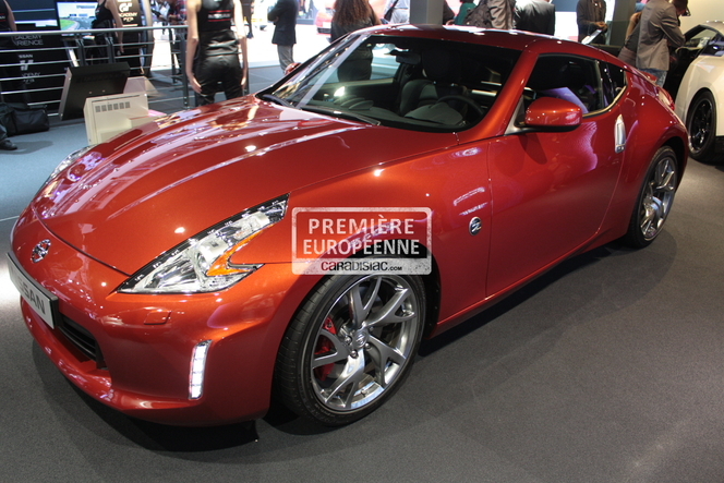 En direct du Mondial 2012 - Nissan 370Z restylé : dans l'air du temps