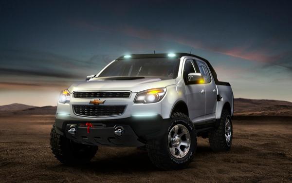 Salon de Francfort 2011 - Chevrolet Colorado Rally et Miray concepts en première européenne