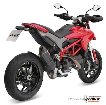 Mivv Suono: du Steel Black pour la Ducati Hypermotard