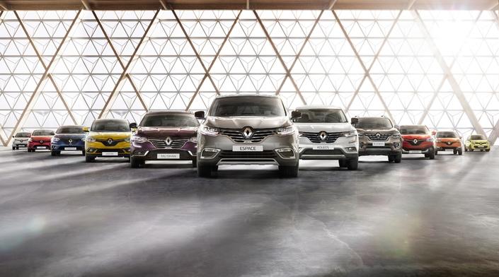 Groupe Renault: un nouveau record de ventes mondiales au 1er semestre 2017