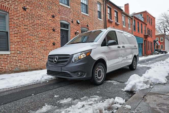 Le Mercedes Metris (Classe V) débarque aux États-Unis