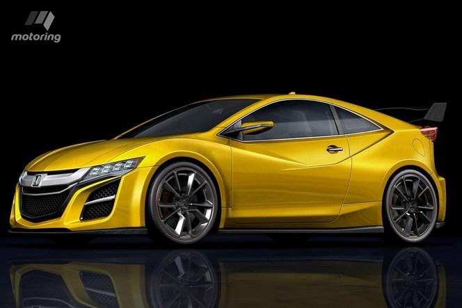 Un nouveau Honda CRZ en 2017 ?