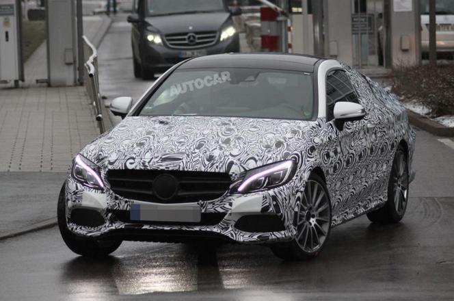 La Mercedes Classe C Coupe sera à Francfort