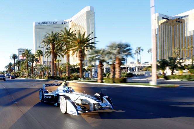 Formule E: 1er roulage public à Las Vegas