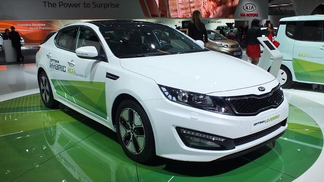 En direct du Mondial 2012 : Kia Optima hybride, au même prix que la diesel