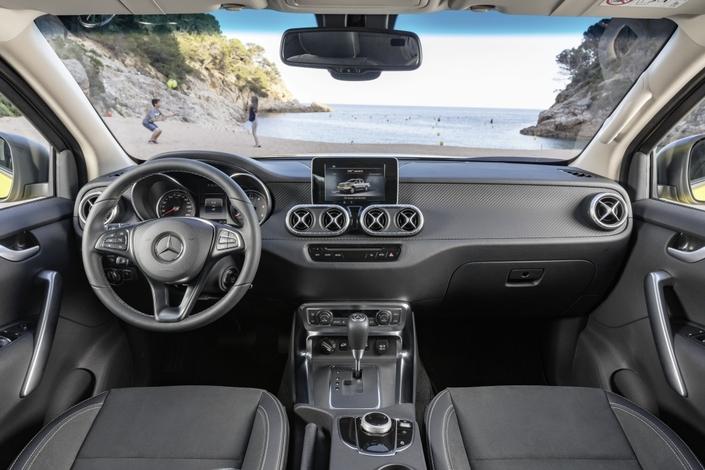 Mercedes Classe X : les premières infos et les premières images (vidéo)