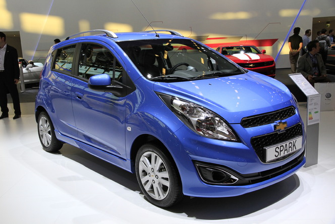 Video - En direct du Mondial 2012 : Chevrolet Spark restylée, plus souriante