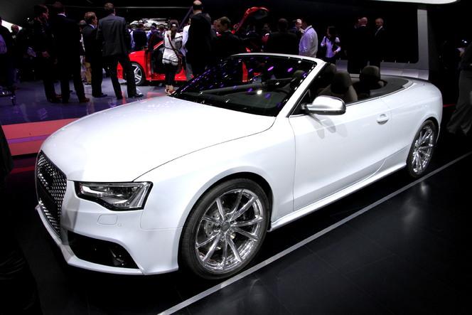 Vidéo - en direct du Mondial de Paris 2012 - Audi RS5 cabriolet : logique