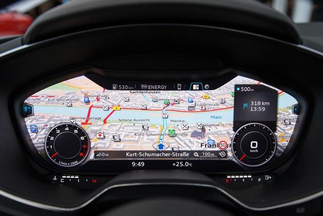 Audi TT : son intérieur dévoilé au CES