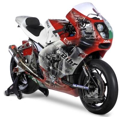 Bol D'or 2011: la Metiss passe en 17 pouces et sera chaussée de pneus Michelin.