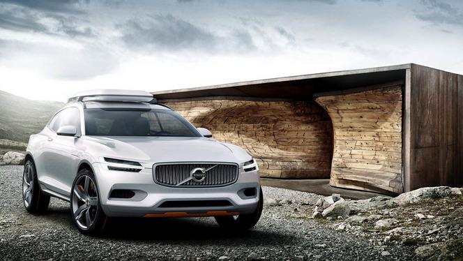 Volvo XC Coupé Concept : un aperçu du futur XC90