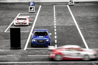 Audi fait travailler les étudiants sur la voiture autonome