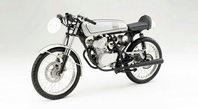 Café Racer : le rêve en 50 cc - Honda Dream 50R