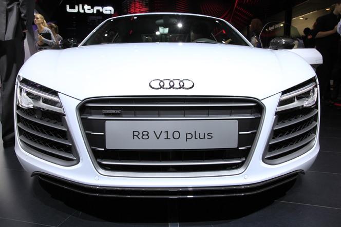 En direct du Mondial 2012 : Audi R8 restylée, mise à jour