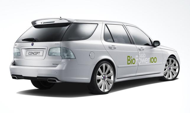 Zoom sur le concept-car Saab BioPower 100