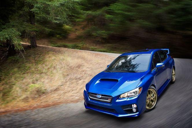 C'est elle, la nouvelle Subaru WRX STi
