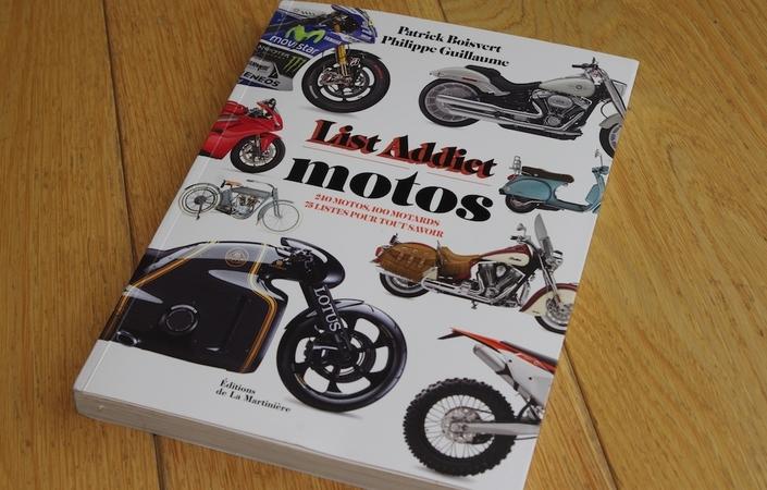 Lu pour vous: List Addict Motos, de Patrick Boisvert et Philippe Guillaume