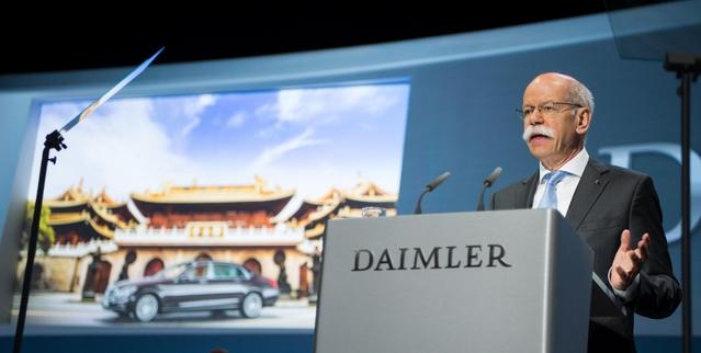 Mercedes devient numéro un mondial du premium