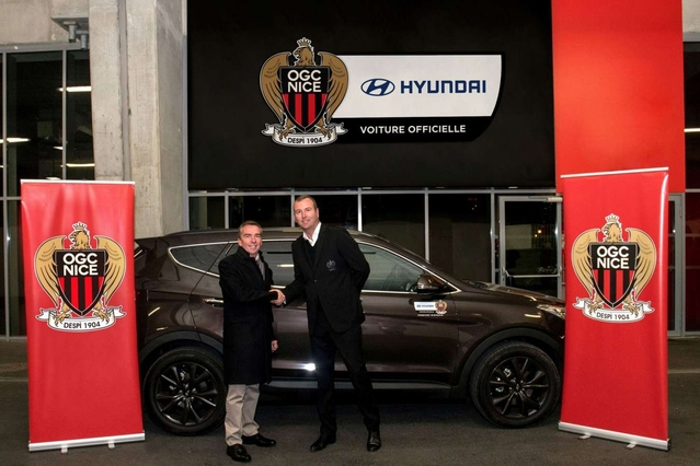 Football: Nice en Hyundai, sauf pour Balotelli en Giulia QV