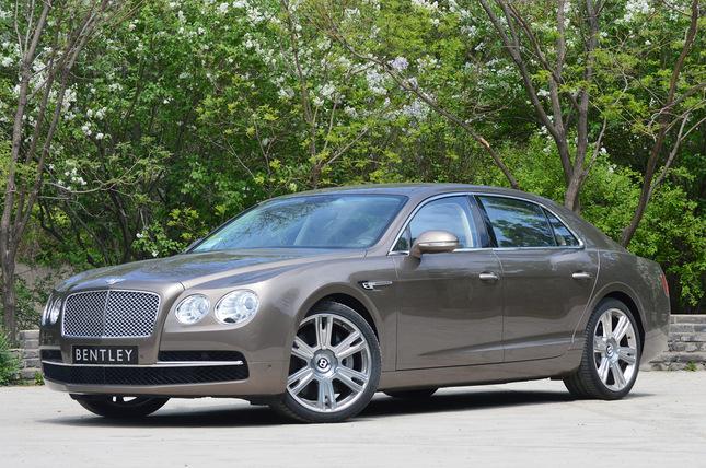 Bentley : ventes record en 2013 en hausse de 19%