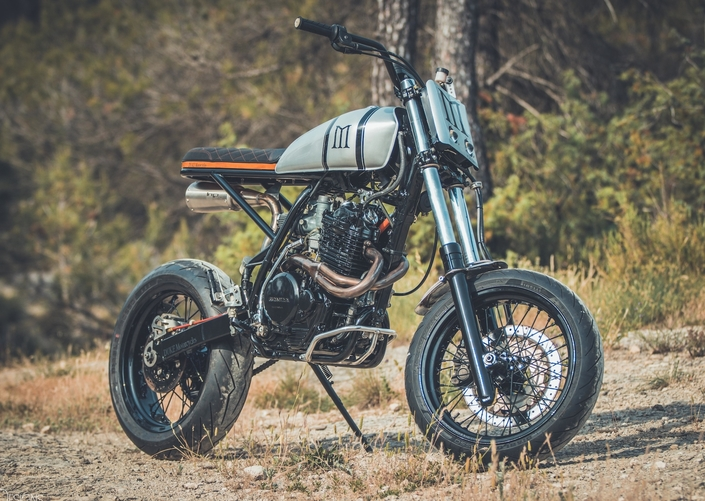 Prépa: Honda XR600 by Duke Motorcycles