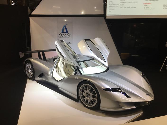 Les voitures qui font rêver en direct du Mondial de Paris 2018