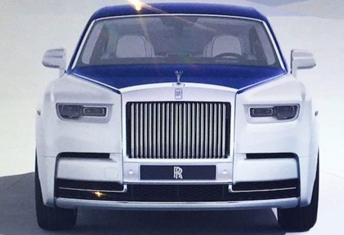 rolls royce la nouvelle phantom en fuite. Black Bedroom Furniture Sets. Home Design Ideas